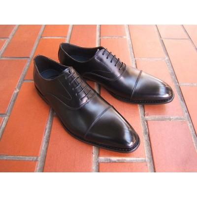 HIROKO KOSHINO/ヒロコ コシノ ビジネス 紳士靴 HK3201-T ブラック ストレートチップ ロングノーズ3Eワイズ ビジネス 送料無料