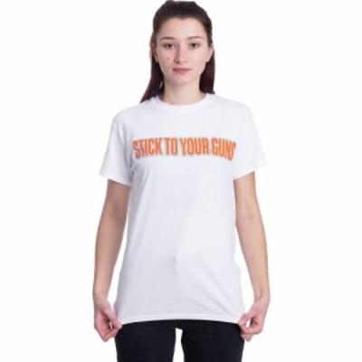 スティックトゥーユアガンズ Stick To Your Guns レディース Tシャツ トップス - Unbroken White - T-Shirt white
