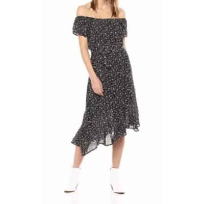 lucky ラッキー ファッション ドレス Lucky Brand Womens Dress Black Size Medium M Sheath Floral Print