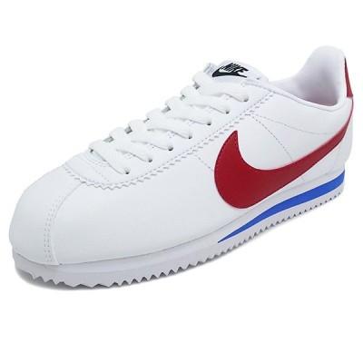 スニーカー ナイキ NIKE ウィメンズクラシックコルテッツレザー ホワイト/バーシティレッド/バーシティロイヤル 807471-103 メンズ レディース シューズ 靴