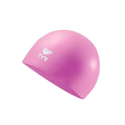 TYR Wrinkle Free Junior Silicone Cap, Pink