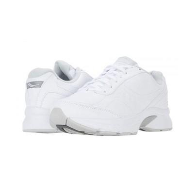 Saucony サッカニー メンズ 男性用 シューズ 靴 スニーカー 運動靴 Omni Walker 3 - White