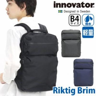ビジネスリュック innovator イノベーター Riktig Brim ビジネス リュック ビジネスバッグ ビジカジ バッグ 通勤 通勤用 通勤かばん メン