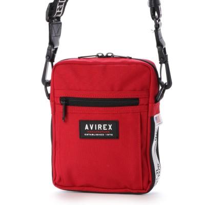 アヴィレックス AVIREX ミニショルダーショルダー (red)