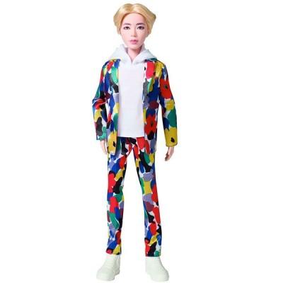 BTS 防弾少年団 人形 フィギュア JIN ジン IDOL アイドル ファッションドール 公式コレクション グッズ 着せ替え人形 バンタン