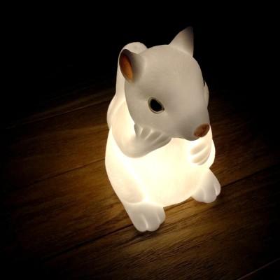 Woodland Baby Bunny LED Night Light  Squirrel りすのミニLEDランプ(ミニランプ)