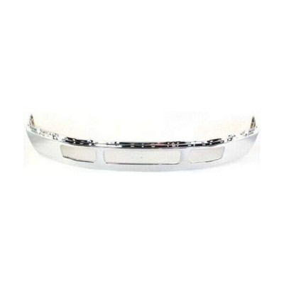 Chrome Steel Front Bumper for 05-07 Ford F-450 SD, F-550 SD w/Fender F