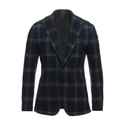 タリアトーレ TAGLIATORE テーラードジャケット ダークブルー 48 バージンウール 50% / コットン 50% テーラードジャケット