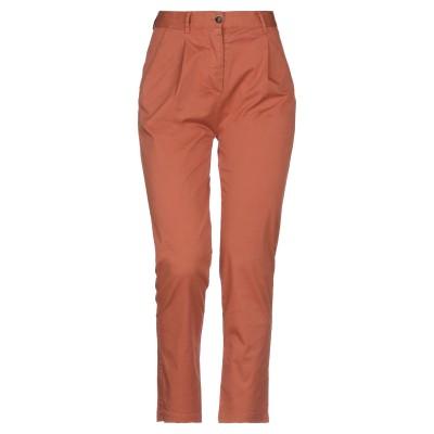 ZHELDA パンツ 赤茶色 00 コットン 97% / ポリウレタン 3% パンツ