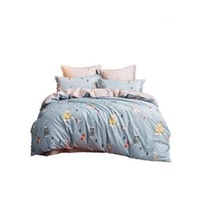 100%コットンのベッドリネンキルトカバー枕カバー、ベッドリネン,3ピース/ 4ピース,ツイル漫画4フィート150 * 21