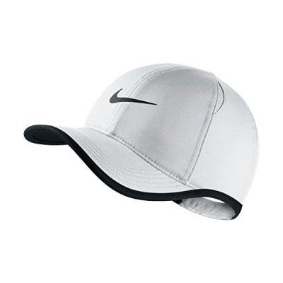 Nike Youth Aerobill Featherlight Cap, White/Black/Black, Misc【並行輸入品】