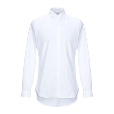 VANGHER N.7 シャツ ホワイト 42 コットン 100% シャツ