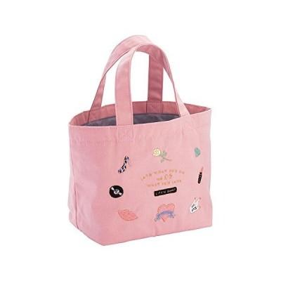 マークス ミニトートバッグ アイコン刺繍 雑貨コレクション ピンク ICE-TB2-PK