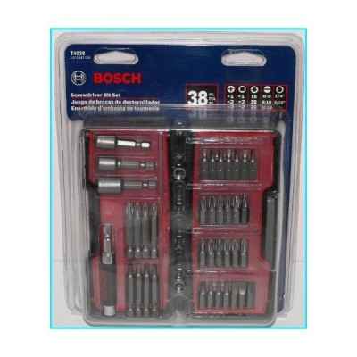 Bosch T4038 38-Piece Screwdriver Bit Set【並行輸入品】