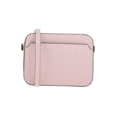 VALEXTRA メッセンジャーバッグ ピンク 牛革(カーフ) 100% メッセンジャーバッグ