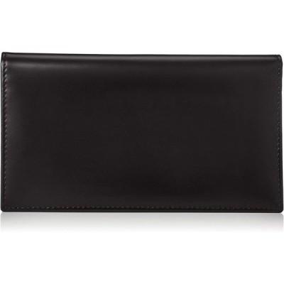 [エッティンガー] 長財布 BH806AJR BridleHide コートウォレット カーフレザー ブラック/イエロー [並行輸入品]