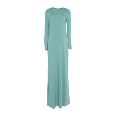 マニラ グレース MANILA GRACE ロングワンピース&ドレス ライトグリーン 38 レーヨン 97% / ポリウレタン 3% ロングワンピー