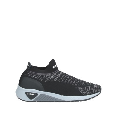 ディーゼル DIESEL スニーカー&テニスシューズ(ローカット) ブラック 38 ナイロン 100% スニーカー&テニスシューズ(ローカット)