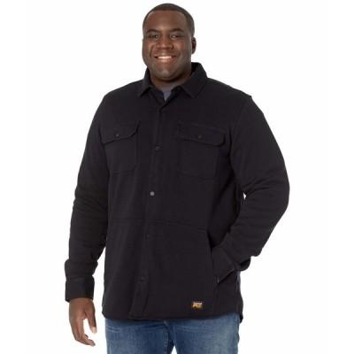 ティンバーランド シャツ トップス メンズ Mill River Fleece Shirt Jacket - Tall Jet Black