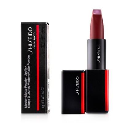 資生堂 リップスティック Shiseido 口紅 モダンマット パウダー #515 Mellow Drama (Crimson Red) 4g 誕生日プレゼント