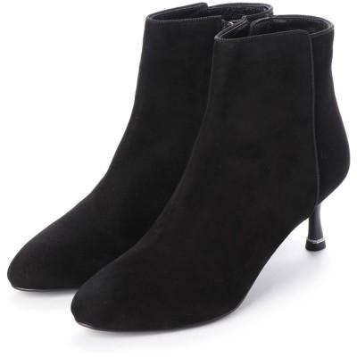 ジルスチュアート シュー JILLSTUART shoe ショートブーツ (ブラックスエード)