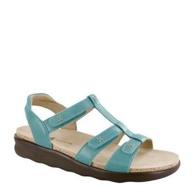 エスエーエス レディース サンダル シューズ Sorrento Comfort Sandals Turquoise
