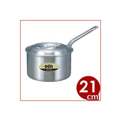 DON アルミ深型片手鍋 21cm 4リットル 煮込み料理 茹でもの 丈夫