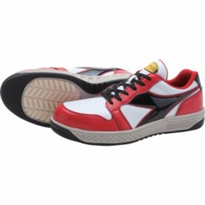 ディアドラ 安全作業靴 グレーブ レッド/ホワイト/ブラック 26.5cm GR312-265