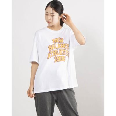 ニューバランス new balance レディース 半袖Tシャツ AWT11550 AWT11550 (ホワイト)