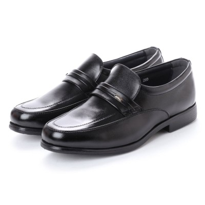ヴィノアール VINOIR 超軽量高機能ビジネスシューズ モカシーノ (ブラック)