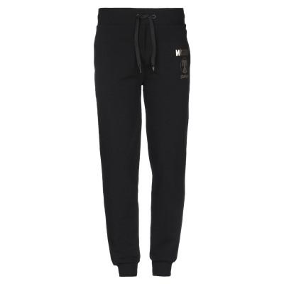 モスキーノ MOSCHINO パンツ ブラック XS コットン 95% / ポリウレタン 5% パンツ