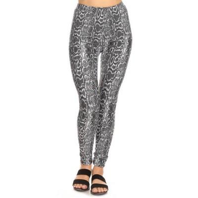 ホワイトマーク レディース カジュアルパンツ ボトムス Women's One Size Fits Most Printed Leggings