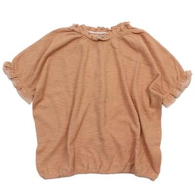 """セール 「60%OFF」 半袖Tシャツ """"オーシャン&グラウンド"""" 子供服 WAFFLE GATHER T ピンク(PK)"""
