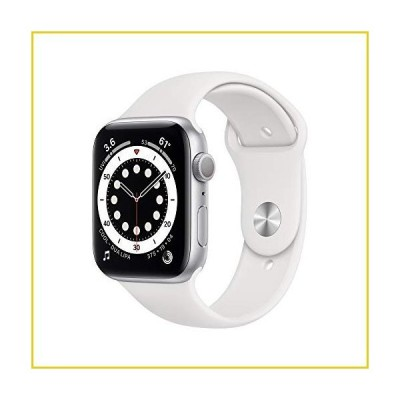 New Apple?Watch Series 6 (GPS, 44mm) - Silver Aluminum Case with White Sport Band並行輸入品
