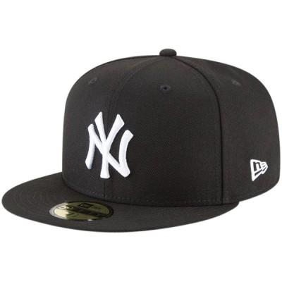 ニューヨーク・ヤンキース New Era 59FIFTY Fitted キャップ - Black