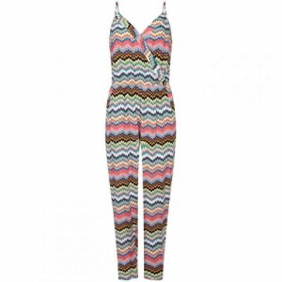 ユミ Yumi レディース オールインワン ワンピース・ドレス Zigzag Print Jumpsuit Multi-Coloured