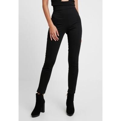 ニリーバイネリー カジュアルパンツ レディース ボトムス SHAPE HIGH WAIST PANT - Trousers - black