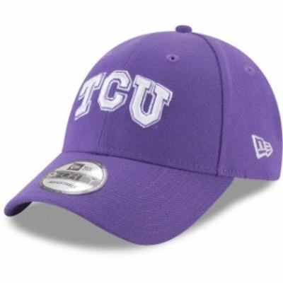 New Era ニュー エラ スポーツ用品  New Era TCU Horned Frogs Purple The League 9FORTY Adjustable Hat