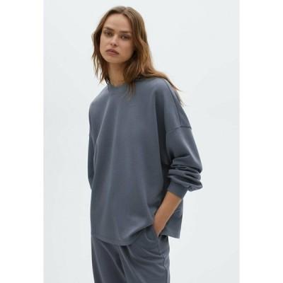 マッシモ ドゥッティ パーカー・スウェットシャツ レディース アウター Sweatshirt - dark blue