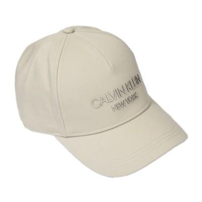 カルバン クライン CALVIN KLEIN CK ベースボールキャップ 帽子 キャップ ベージュ ロゴ ブランド おしゃれ メンズ レディース K50K506411-CL2