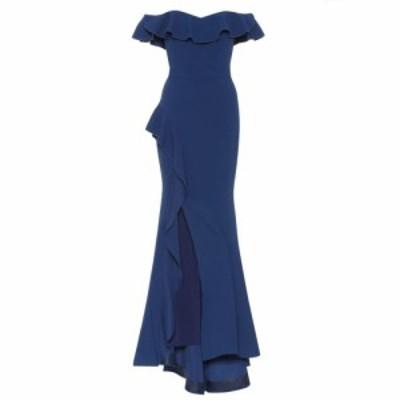 レベッカ ヴァランス Rebecca Vallance レディース ワンピース ワンピース・ドレス aegean off-the-shoulder dress Indigo