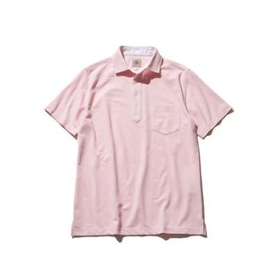 【クールビズおすすめ】裏フハク衿 鹿の子 ポロシャツ