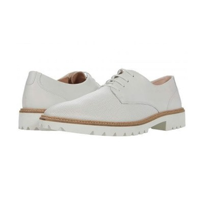ECCO エコー レディース 女性用 シューズ 靴 オックスフォード ビジネスシューズ 通勤靴 Incise Tailored Tie - White Cow Nappa/White Cow Nappa