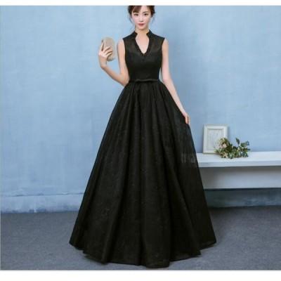送料無料 花嫁ドレス パーティードレス 二次会ドレス ロングドレス イブニングドレス キャバ嬢ドレス