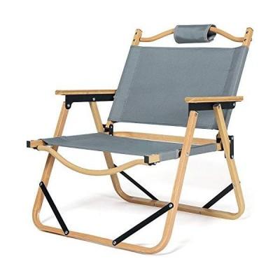 DOKICAMP アウトドアローチェア キャンプチェア 折りたたみ 椅子 耐荷重 120kg 収納バッグ付 コンパクト ビーチ 庭