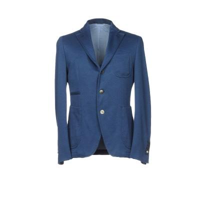 JOHN SHEEP テーラードジャケット ダークブルー 52 コットン 86% / ポリエステル 14% テーラードジャケット