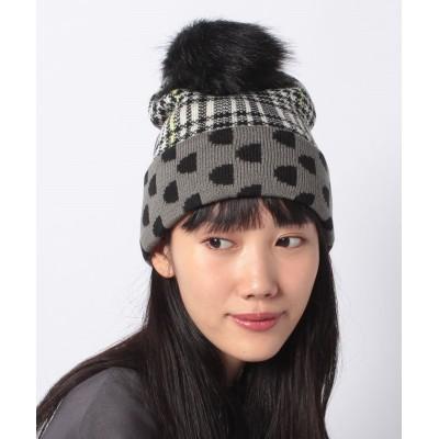 【デシグアル】 帽子 MONOGRAM REVERSIBLE レディース ブラック系 F Desigual