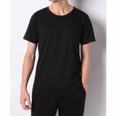 【セール】 スポーツオーソリティ スポーツアクセサリー アパレル雑貨 クルーネックTシャツ 5C-Y19-013-048 メンズ ブラック