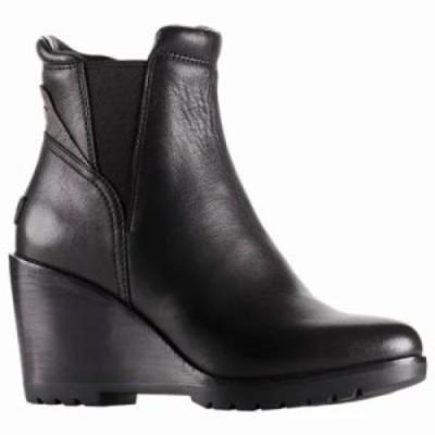 ソレル ブーツ After Hours Chelsea Boot Black Full Grain Leather