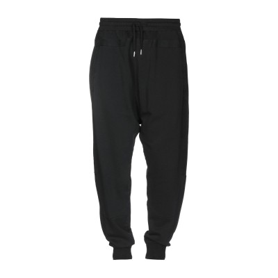 OVERCOME パンツ ブラック S コットン 100% パンツ